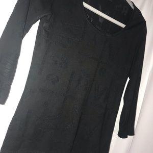 Versace 3/4 length sleeve
